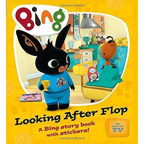 Bing Children Story 5 Books Collection Pack Set (Dressing-Up,Bing-Hide-Seek,Looking-After-Flop,Big Slide,Wheres-Hoppity) - The Book Bundle