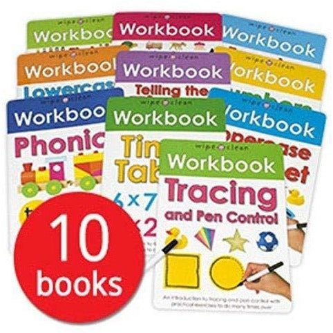 Wipe-Clean Workbook Collection - The Book Bundle