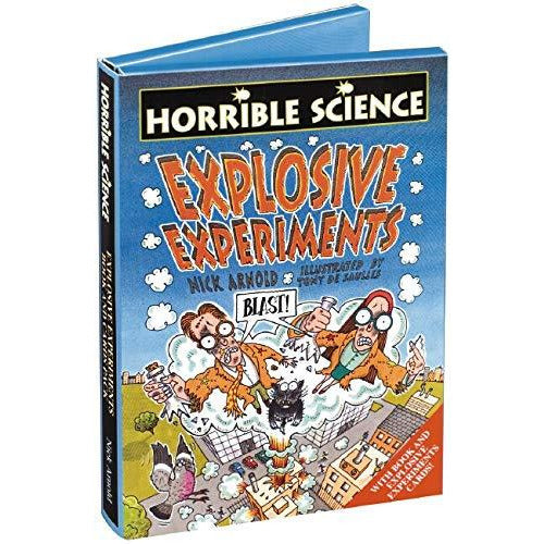 Horrible Science: Explosive Experiments + Experiments Cards - The Book Bundle
