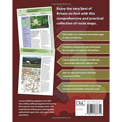 100 Greatest Walks in Britain By Country Walking Magazine - The Book Bundle