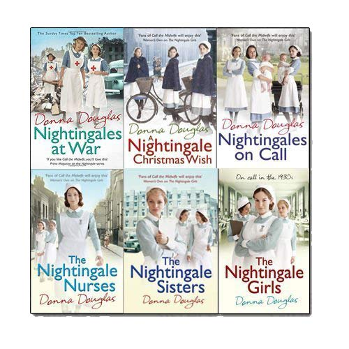 Donna Douglas Nightingales Series 6 Books Bundle Collection - The Book Bundle