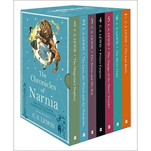 Chronicles of Narnia (7 Volumes) - The Book Bundle