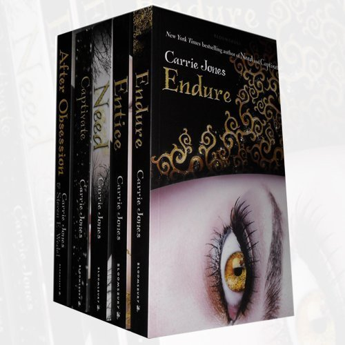 Carrie Jones 5 Books Bundle Collection (Endure, Entice, Need, Captivate, After Obsession) - The Book Bundle