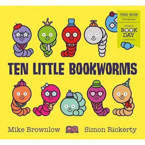Ten Little Bookworms: World Book Day 2019 - The Book Bundle
