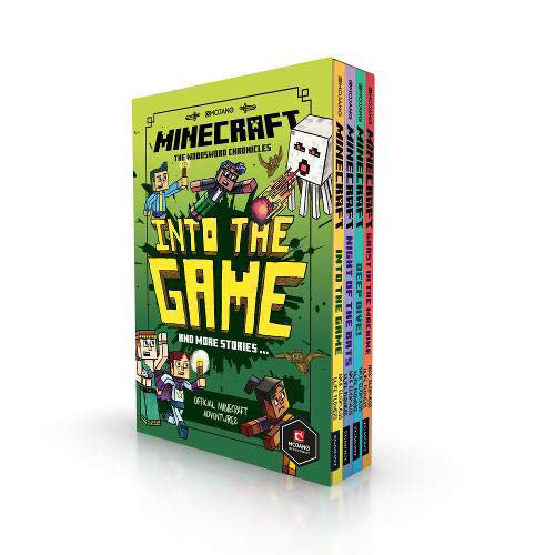 Minecraft: Into the Game – The Woodsword Chronicles Collection 4 Books Box Set - The Book Bundle