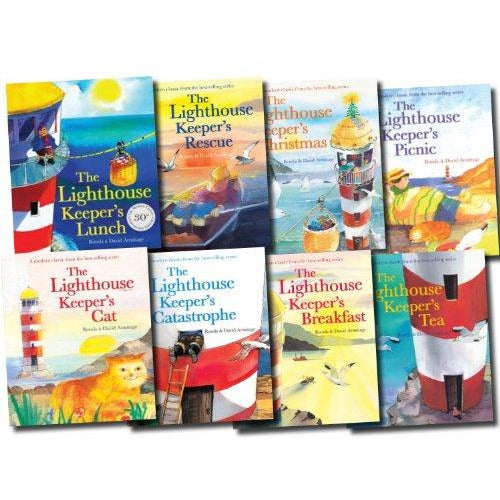 The Lighthouse Keeper's Lunch Collection 8 Books Set - The Book Bundle