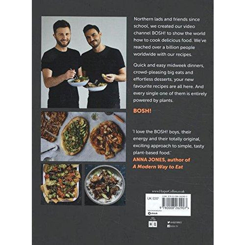 BOSH!: Simple recipes. Unbelievable results. All plants. The highest-selling vegan cookery book ever - The Book Bundle