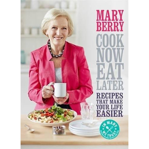 cook now, eat later and mary berry's family sunday lunches 2 books collection set by mary berry - The Book Bundle