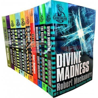 Robert Muchamore Cherub Series 10 Books Collection Set - The Book Bundle