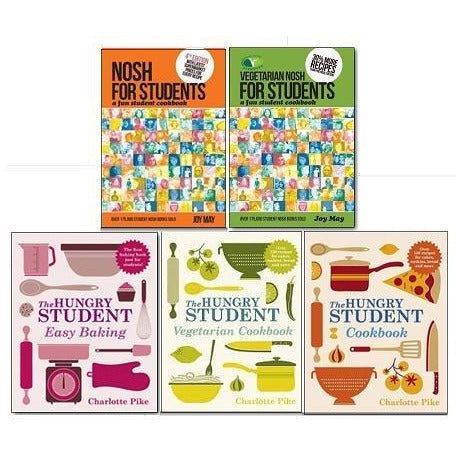 The Student Cookbook Collection 5 Books Set - The Book Bundle