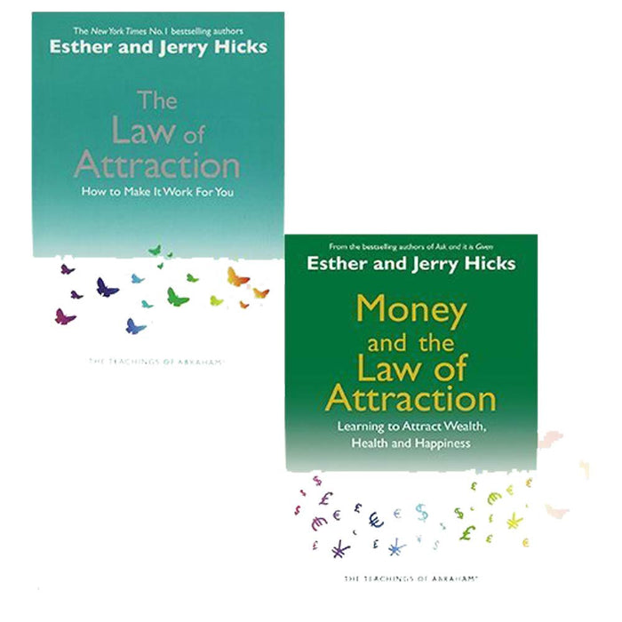 Law Of Attraction Esther and Jerry Hicks 2 Books Bundle Collection - The Book Bundle