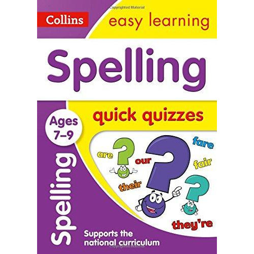 Spelling Quick Quizzes Ages 7-9: Ideal for Home Learning - The Book Bundle