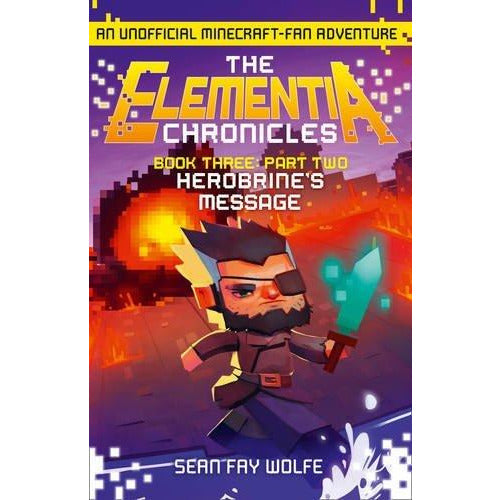 minecraft elementia chronicles collection 4 books set - The Book Bundle