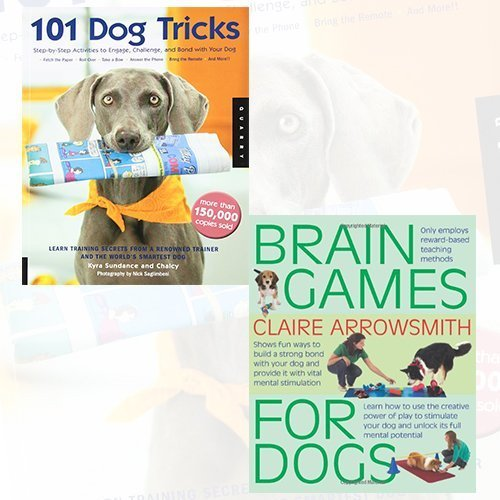 101 Dog Tricks and Brain Games For Dogs 2 Books Bundle Collection Set - The Book Bundle