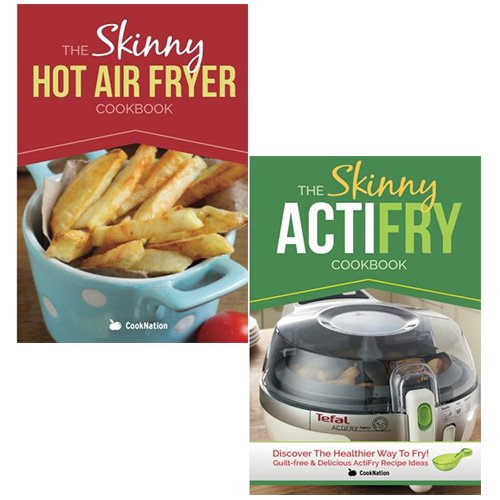 The Skinny Hot Fry Cookbook Collection (The Skinny Actifry Cookbook, The Skinny Hot Air Fryer Cookbook) 2 Books Set Pack - The Book Bundle