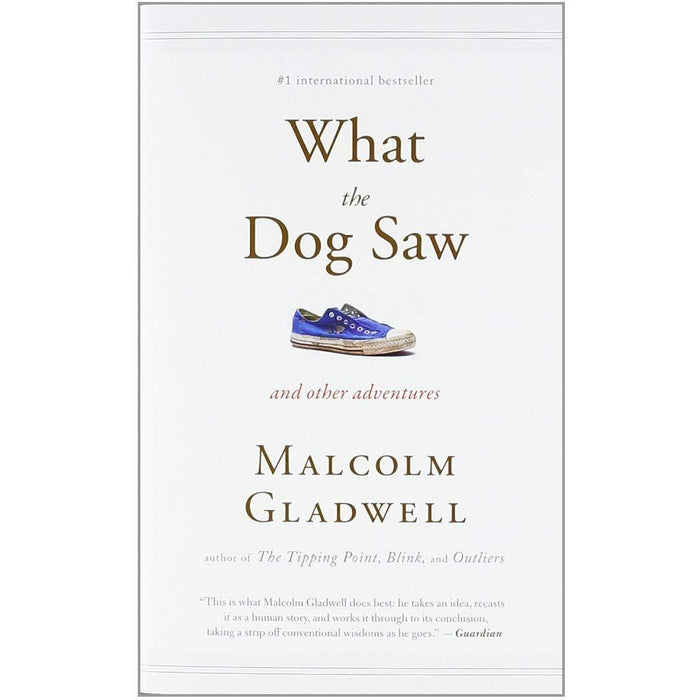 Malcolm Gladwell Collection 4 Books Set (What the Dog Saw, The Tipping Point, [Hardcover] Talking to Strangers, Outliers) - The Book Bundle