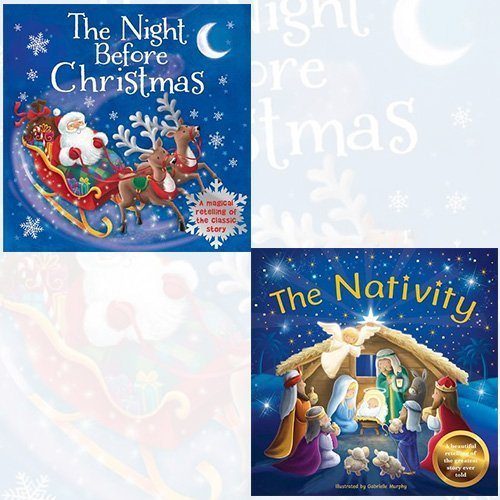 Magical Story Time Collection 2 Books Bundle (The Night Before Christmas,The Nativity) - The Book Bundle