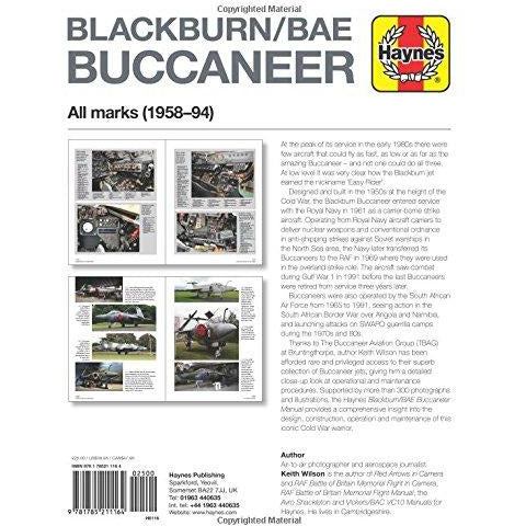 Blackburn Buccaneer Manual (Haynes Manuals) - The Book Bundle