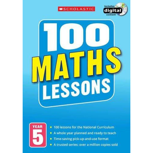100 Maths Lessons for the National Curriculum for teaching ages 9-10 (Year 5). - The Book Bundle