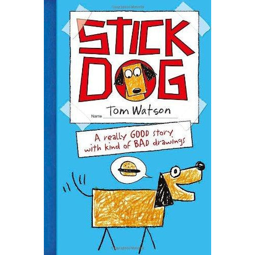 Tom Watson Stick Dog Collection 3 Books Set - The Book Bundle