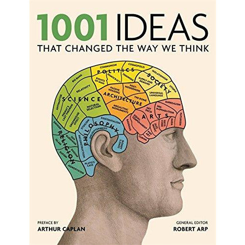 1001 Ideas That Changed the Way We Think: Human Knowledge on Philosophy, Politics, Science, Art, Religion, Society and More - The Book Bundle