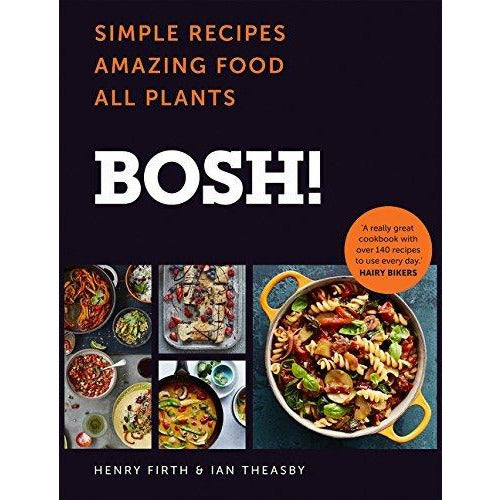 Bosh simple recipes [hardcover], tasty & healthy and slow cooker spice-guy curry 3 books collection set - The Book Bundle