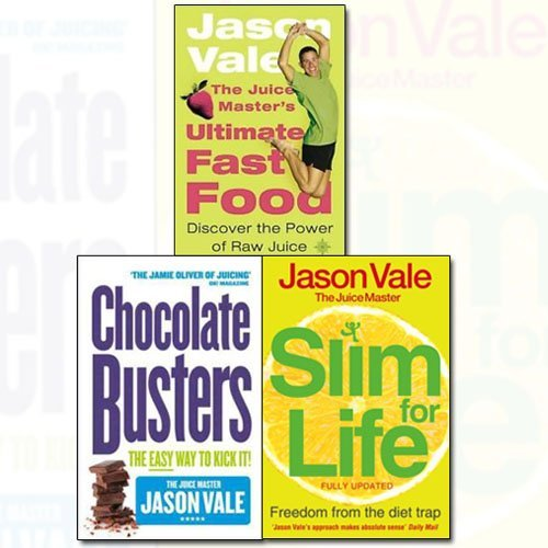 Jason Vale Collection 3 Books Bundle (Freedom from the Diet Trap, Chocolate Busters, The Juice Master's Ultimate Fast Food) - The Book Bundle