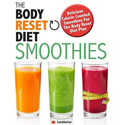 Body reset diet smoothies,fast metabolism, healthy medic food and 5 ingredients [hardcover] 4 books collection set - The Book Bundle