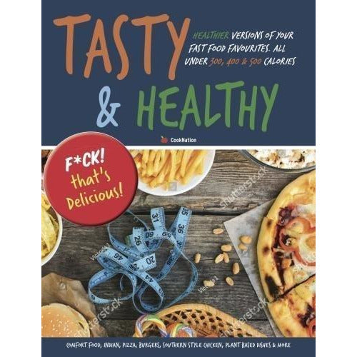 Tasty Ultimate Cookbook [Hardcover], Tasty & Healthy F Ck That's Delicious 2 Books Collection Set - The Book Bundle