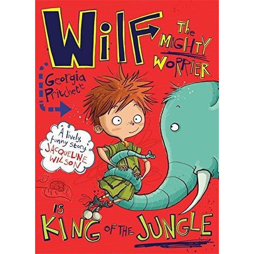 Wilf the Mighty Worrier Collection 5 Books Set By Georgia Pritchett - The Book Bundle