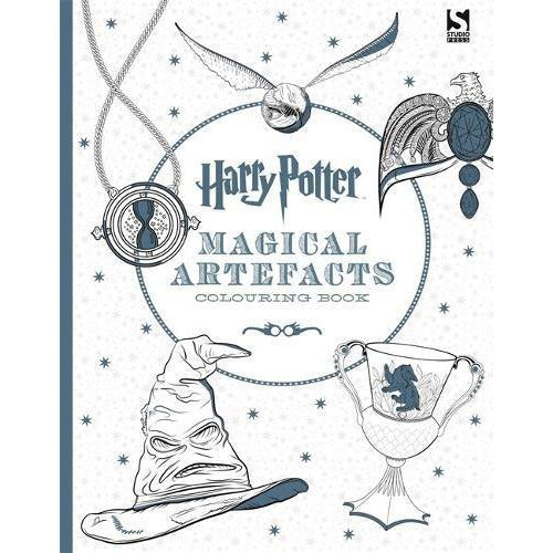 Harry Potter Magical Artefacts Colouring Book 4. - The Book Bundle