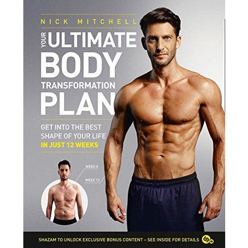 World's fittest book and your ultimate body transformation plan 2 books collection set - The Book Bundle