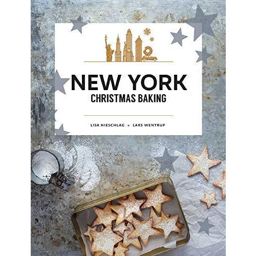 Copenhagen Cult Recipes, New York Christmas Baking, New York Christmas Recipes and Stories 3 Books Collection Set - The Book Bundle