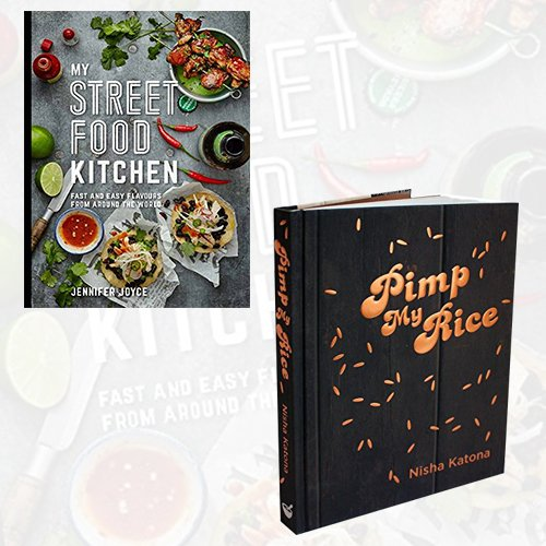 My Street Food Kitchen and Pimp My Rice Collection 2 Books Bundle Set - The Book Bundle