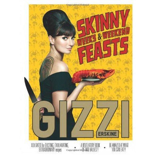 gizzi's season's eatings, skinny weeks and weekend feasts 2 books collection set - The Book Bundle