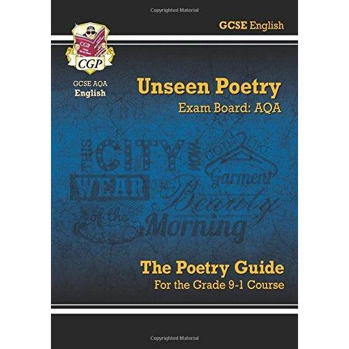 GCSE English Literature AQA Poetry Guide For The Grade 9-1 Course 3 Books Bundle Collection - The Book Bundle