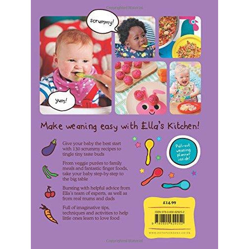 Ella's Kitchen: The First Foods Book: The Purple One - The Book Bundle