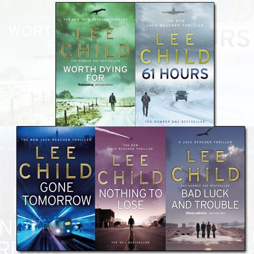 Jack Reacher Series Lee Child Collection (11-15) 5 Books Bundle - The Book Bundle