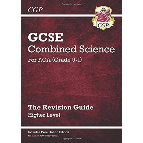 cgp gcse combined science 9-1 revision 3 books collection set - The Book Bundle