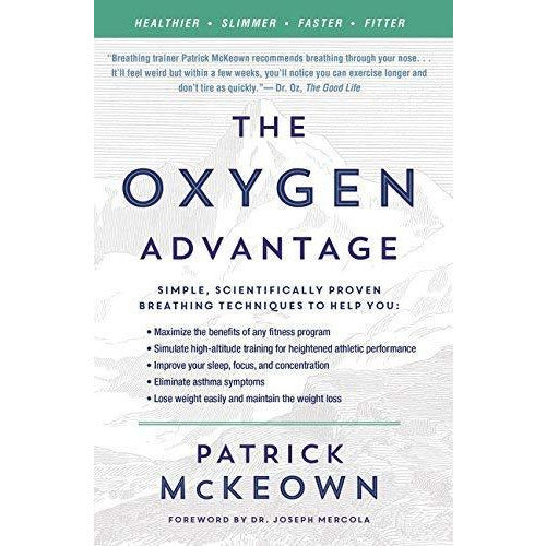 What Doesnt Kill Us, The Oxygen Advantage, Scientifically Proven Breathing Techniques 3 Books Collection Set - The Book Bundle
