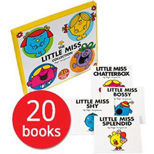 The Little Miss Collection 20 Books Box Set by Roger Hargreaves NEW Pack - The Book Bundle