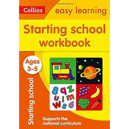 Starting School Workbook Ages 3-5: Ideal for Home Learning - The Book Bundle