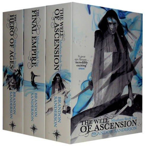 Mistborn Trilogy: The Hero of Ages, the Well of Ascension and the Final Empire - The Book Bundle