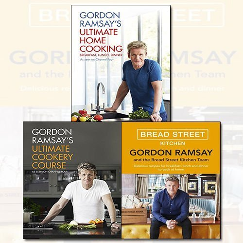 Gordon Ramsay 3 Books Bundle Collection - The Book Bundle