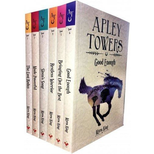 Apley Towers 6 Books Collection Set by Myra King Books 1 To 6 - The Book Bundle