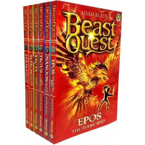 Beast Quest slipcase series 1 (books 1 - 6) - The Book Bundle