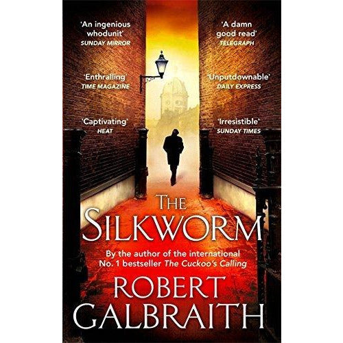 Cormoran Strike Series Robert Galbraith 4 Books Collection Set ( The Cuckoo's Calling ,The Silkworm,Career of Evil,Lethal White) - The Book Bundle