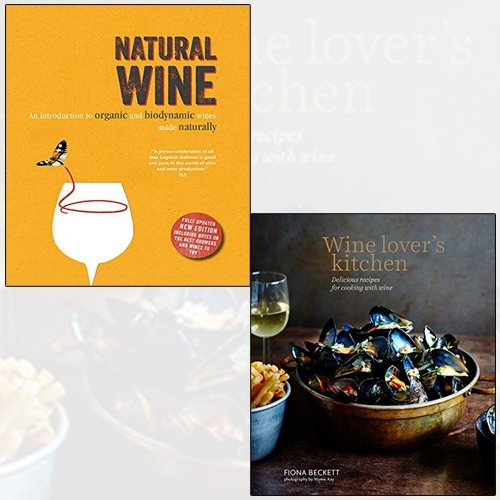 wine lover's kitchen, natural wine 2 books collection set - The Book Bundle
