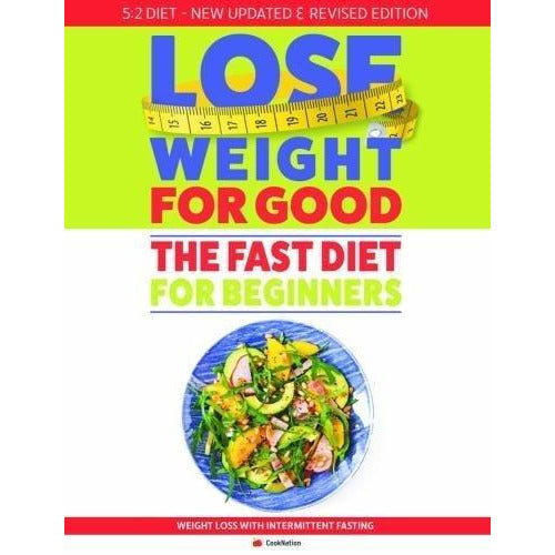 Fast diet, nom nom fast 800,fast diet s, vegetarian 5 2 , complete 5 books collection set - The Book Bundle