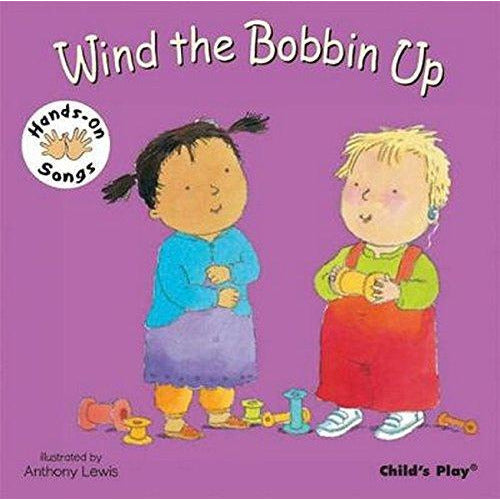 Wind the Bobbin Up (Hands-On Songs) (BSL) - The Book Bundle